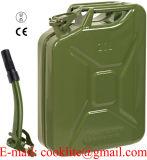 Garrafa Gasolina Metalico/Bidonの軽油Metalico/MetalesジェリーPuede Boxear/金属のジープの缶