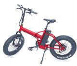 كبيرة قوة [48ف] [500و] [750و] سمين إطار العجلة 4.0 ثلج شاطئ درّاجة كهربائيّة [فولدبل]