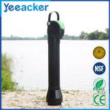 水不十分な領域で使用される携帯用カーボン水フィルター
