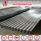 Prix ondulé galvanisé par qualité de tôle d'acier