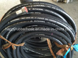 Boyau 4sh hydraulique à haute pression à quatre fils lourd