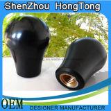 Luva de Pega oval de plástico de cor preta