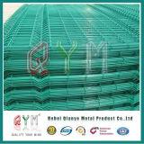 Enduit de PVC Panneaux de clôture en treillis métallique soudé/ Panneau de clôtures de jardin pour la vente