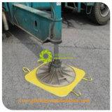Временной дорожной сети Outrigger блока защиты и пластмассовый инструмент крана HDPE Outrigger блока