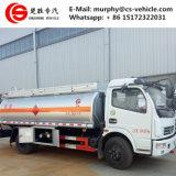 6000L Vrachtwagen van de Vrachtwagen van de Olietanker de Mobiele Bijtankende 6m3