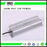 24V 100W Waterproof o excitador do diodo emissor de luz, fonte de alimentação do diodo emissor de luz 100W, IP65/IP67 100W Waterproof a fonte de alimentação do diodo emissor de luz