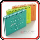 Custom Leather Spiral Leather Notebook Planner Journal des filles