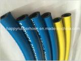 Ein Textilflechten-Hochdruckhydrauliköl-Schlauch SAE100 R6