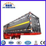 20 pieds de nouvelle norme ISO Transport chimique de l'huile carburant essence d'acide phosphorique Conteneur de réservoir d'eau