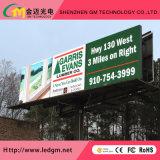 Piscina cheia de alto brilho cor LED fixo (P16) do painel de LED de Publicidade