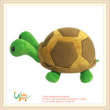 Het zachte Stuk speelgoed van de Ogen van het Borduurwerk van de Schildpad van de Pluche Dubbele Hoofd