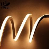 Indicatore luminoso al neon della flessione LED della garanzia 10*10mm del silicone 5years