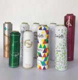 Couleur blanche en aluminium d'impression personnalisée De Parfum Vaporisateur Aérosol bouteille pour différentes tailles de 100ml-1000ml