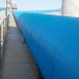 De waterdichte en Stofdichte die Kap van de Transportband van de Riem voor het Vervoeren van Systeem wordt gebruikt