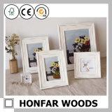 Schäbiger Art-festes Holz-Bilderrahmen für Tischplattendekor