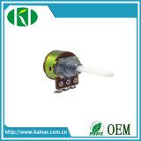 potenziometro rotativo B504 di 17mm con l'interruttore Wh160ak-1-4mm