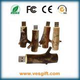 Het Zeer belangrijke Geheugen van de Flits Pendrive van het Gadget van de Bestuurder van de Flits USB Houten