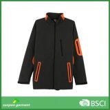 Подгонянная серая куртка Softshell поставленная Изготовлением