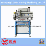 Maquinaria de impresión semi automática curvada de la pantalla