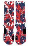 Носки оптового баскетбола OEM изготовленный на заказ атлетические
