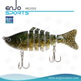 Pesca Multi-articulada Life-Like Lure Isca baixa Swimbait Shallow Fishing Tackle Fishing Lures (MS1010)