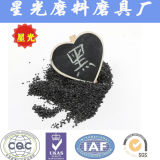 Negro de grano abrasivo de limpieza criogénica de alúmina fundida
