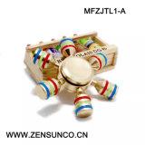 Heiße verkaufenspitze des Finger-Kreiselkompass-Unruhe-Feder-Handspinner-Unruhe-Spinner-Spielzeug-Kupfer-/Aluminium-EDC-Handspinners