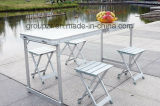 携帯用ピクニック用のテーブルの椅子セット