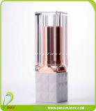 Kosmetik, die Lippenglanz-Behälter verpacken