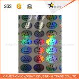 Sticker van het Hologram van de anti-Vervalsing van het Ontwerp van het Beroep van de Druk van het etiket de Opbrengst Aangepaste