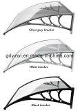 Het in het groot Openlucht Elegante Afbaarden van het Polycarbonaat van de Schaduw DIY (yy1000-B)