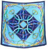 100%の絹の方法絹のスカーフ