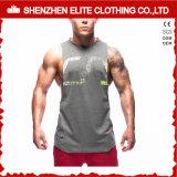De hete Verkopende Mouwloos onderhemden Van uitstekende kwaliteit van de Kleding van de Gymnastiek van de Manier (eltvi-14)