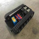 Sistema e telaio di pista di gomma con il nuovo disegno