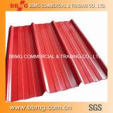 Цвет PPGI покрыл Corrugated листы CGCC толя, Dx51d+Z Prepainted гальванизированная стальная катушка с много цветов