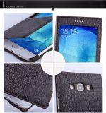 Nueva caja de cuero de la PU del teléfono celular con la ventana para Sumsung