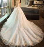 2017 Bordados Lace Suite Wedding vestidos PLD3207