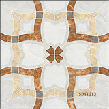 Mattonelle di pavimento di ceramica in pieno lustrate di marmo della porcellana Polished