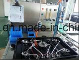 黒い緩和されたガラスのパネル95110が付いている組み込みのガスの歯切り工具のストーブ