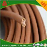 Fio de cobre elétrico H05V-K de fio rv 0.5mm2 da isolação do PVC