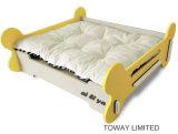 Design Bone Wood Painting Pet Beds com Matts Dog House