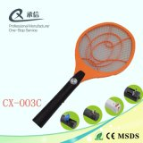 Raqueta recargable neta grande del asesino del mosquito, palo eléctrico del repulsivo de insecto con LED, venta de China