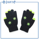 低いMOQはカスタムニットのアクリルの手袋を卸し売りする