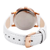 Custom Logo Wholesale Leather Strap Women Watch, Hot Sell Ladies Relógio de pulso 71137