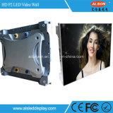 Painel interno da tela do diodo emissor de luz do arrendamento da cor cheia de P2 HD para o estágio
