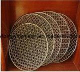 エレクトロによって電流を通されるバーベキューのグリルの網