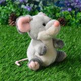Giocattolo della peluche del mouse farcito abitudine