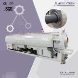 Línea plástica de la máquina de la protuberancia del tubo del PVC