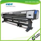 Mejor calidad de 3,2 millones de 10 pies con dos Cabezal Epson DX5 1440ppp impresora solvente Eco