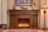 ホテルの家具のヨーロッパの彫刻LEDはつける暖房の電気暖炉(320B)を